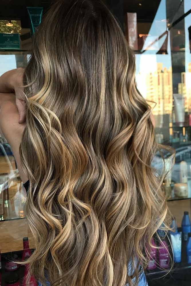 21 Ways To Experiment With Balayage Highlights Hair Pinterest