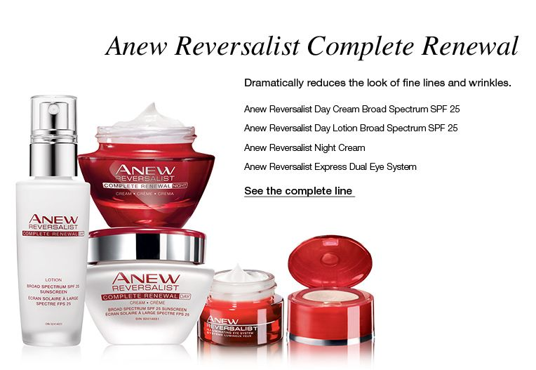 Avon Representative Log In Avon Skin Care Anew Avon