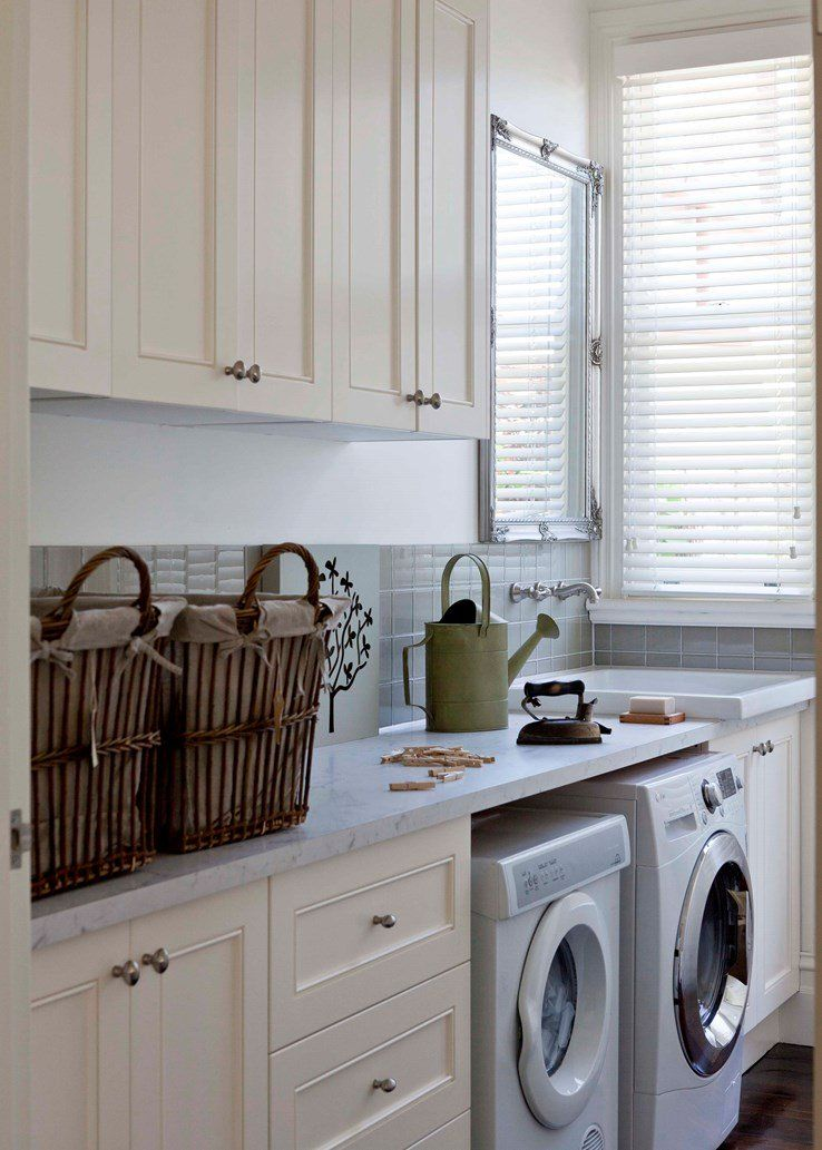 Spectacular French Provincial Style Home Country Laundry Rooms Laundry Room Design French Provincial Decor