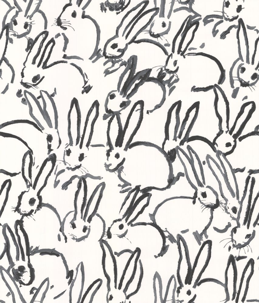 Hutch Print FABRIC Navy Hunt Slonem Fabric By The Yard Backordered