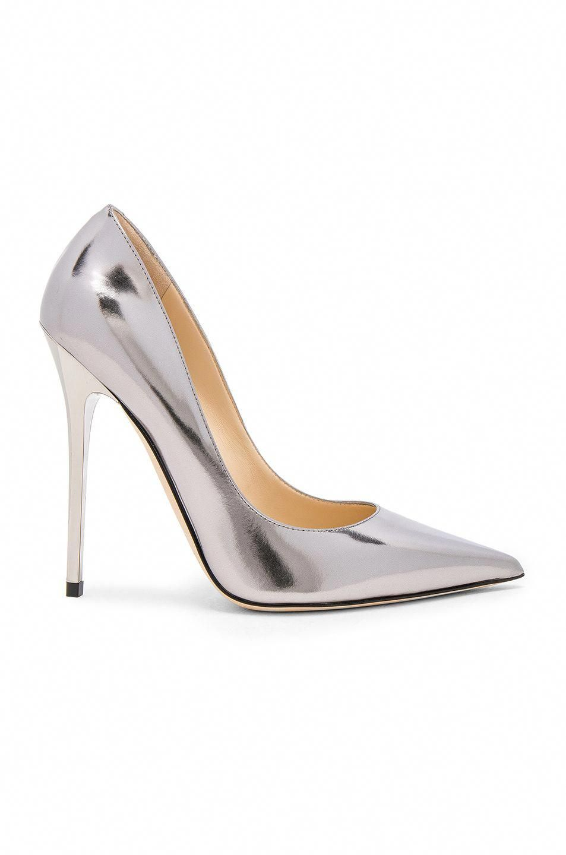 525c37f96748 JIMMY CHOO Mirror Leather Anouk Heels.  jimmychoo  shoes