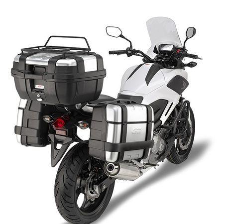Full #Givi Aluminium Luggage Kit with Trekker Boxes | Aluminium ...