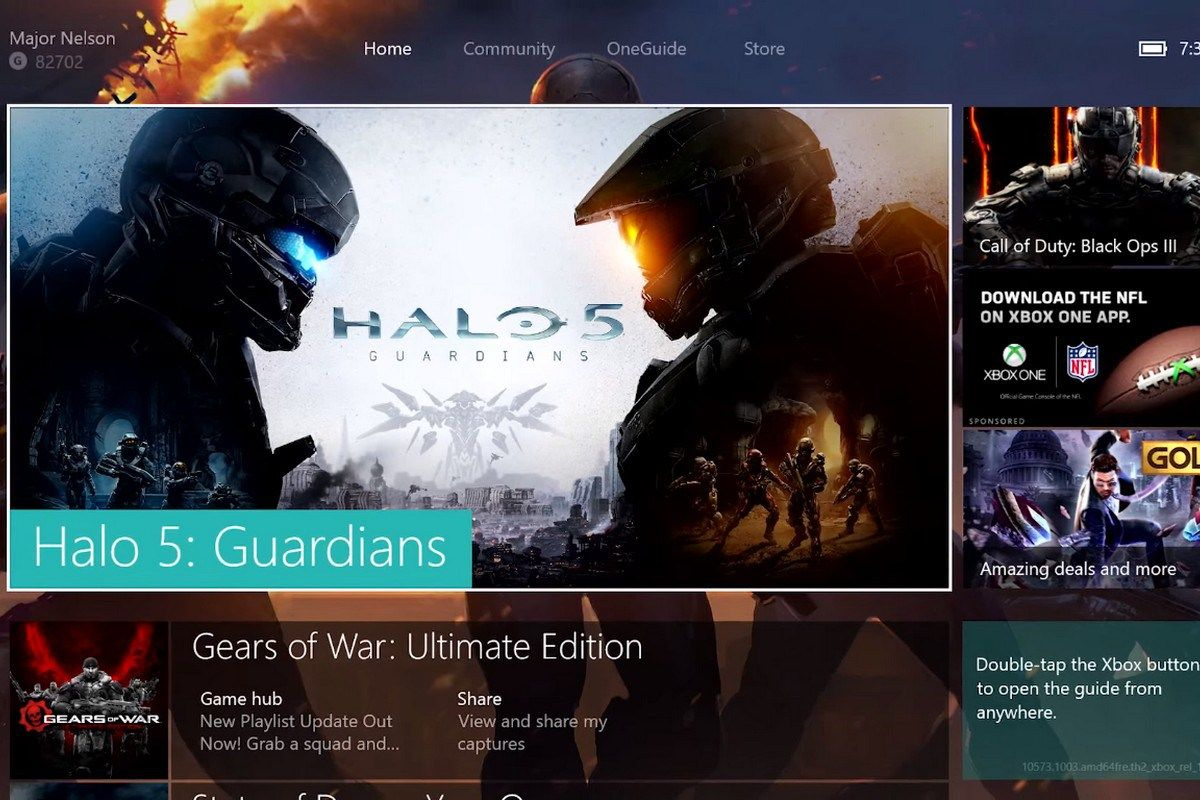 The New Xbox One Experience Launches Worldwide Xbox one