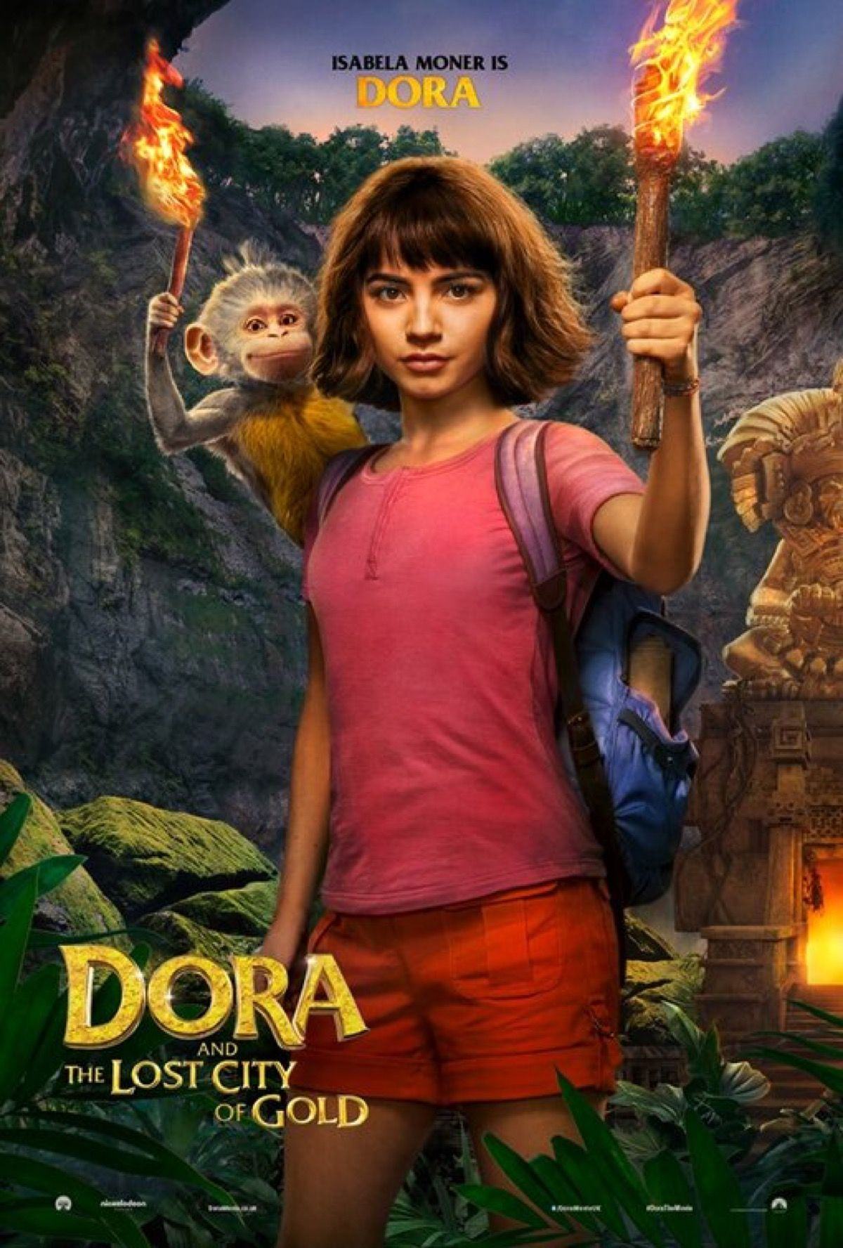 Dora And The Lost City Of Gold The Adventure Begins As Young Explorer Comes To The Big Screen Promo Lost City Of Gold Lost City Disney Original Movies