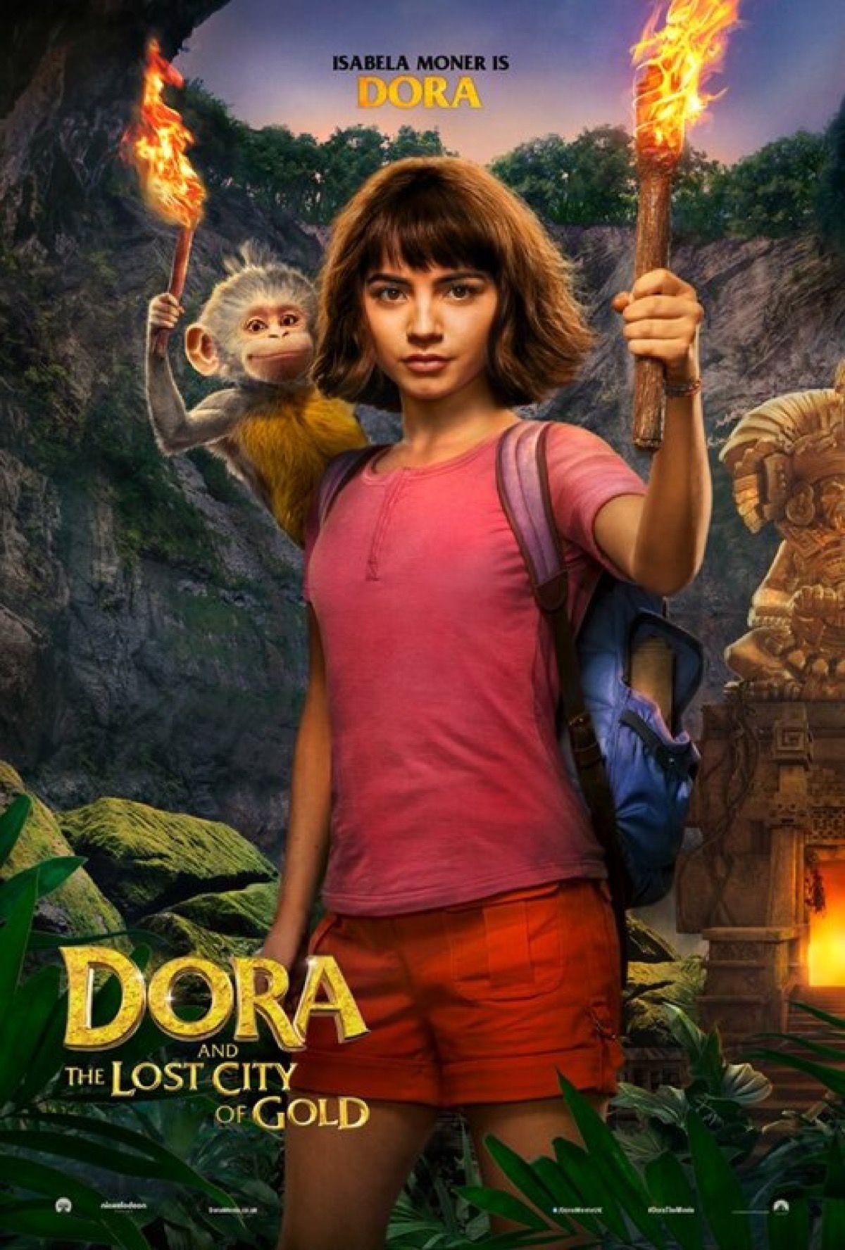 Dora E A Cidade Perdida : cidade, perdida, Gold:, Adventure, Begins, Young, Explorer, Comes, Screen, (Promo), Gold,, City,, Movie