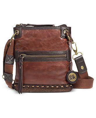 The Sak Handbag, Pax Leather Mini Crossbody - Crossbody & Messenger Bags - Handbags & Accessories - Macy's