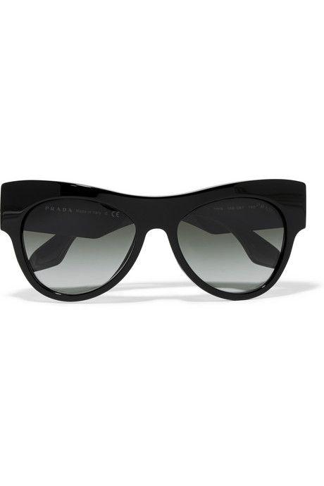 Prada D-frame acetate sunglasses   I\'m Never Without My Glasses ...