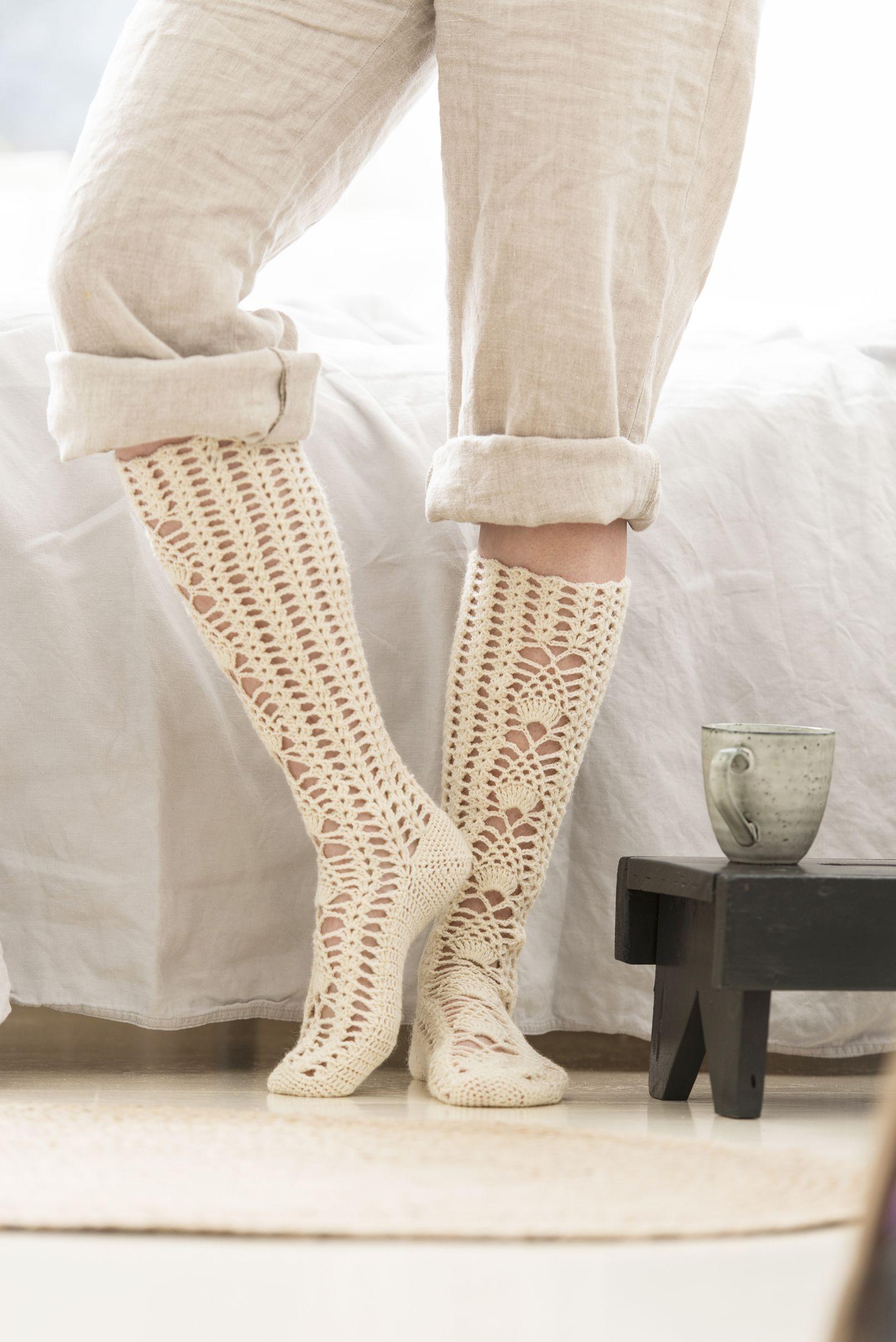Virkatut sukat Novita Venla | sukkia <3 | Pinterest