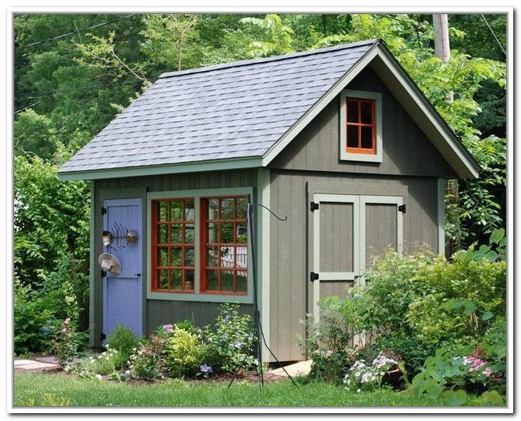 Shed, Shed Plans, Shed Ideas, Shed House, Shed Makeover, Backyard Shed