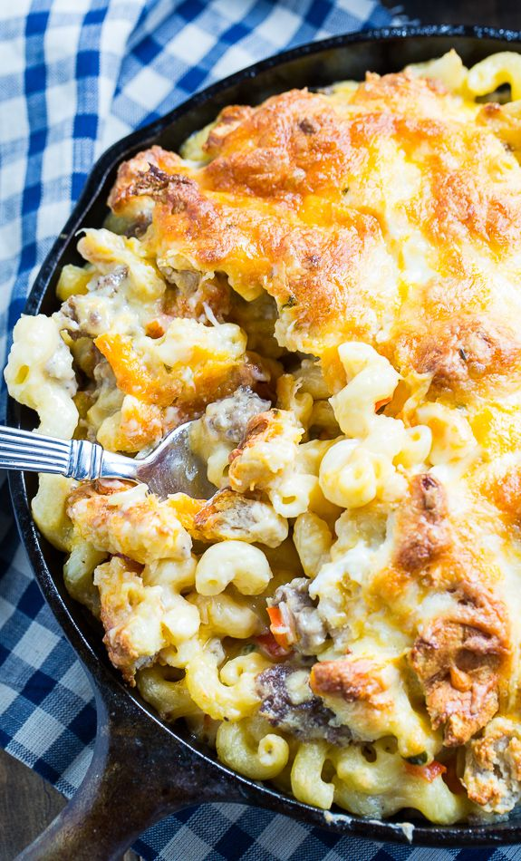 Breakfast Mac And Cheese Recipe Food