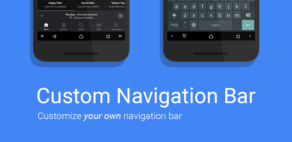 Custom Navigation Bar v1 1 0 Full Unlocked Paid aPP Download