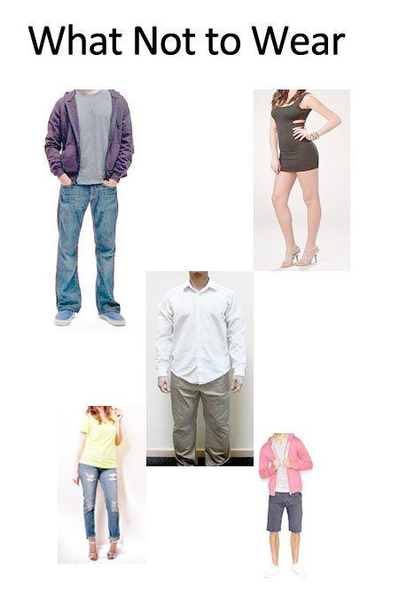 Women no longer dress appropriately for work