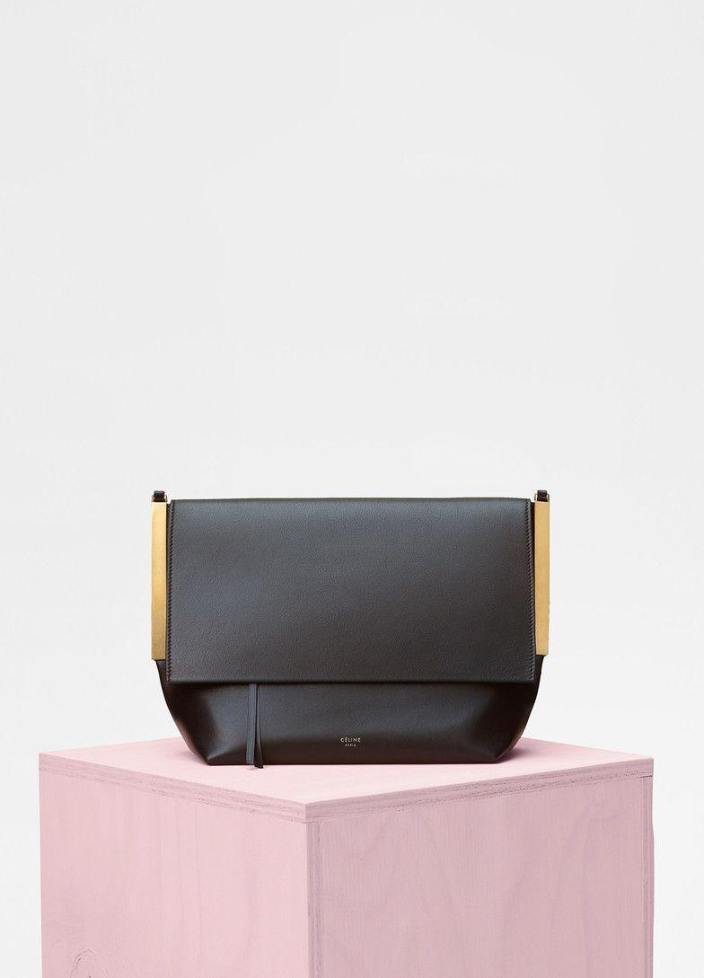 Flap Clasp Bag in Smooth Calfskin - Céline  f860eeac69676