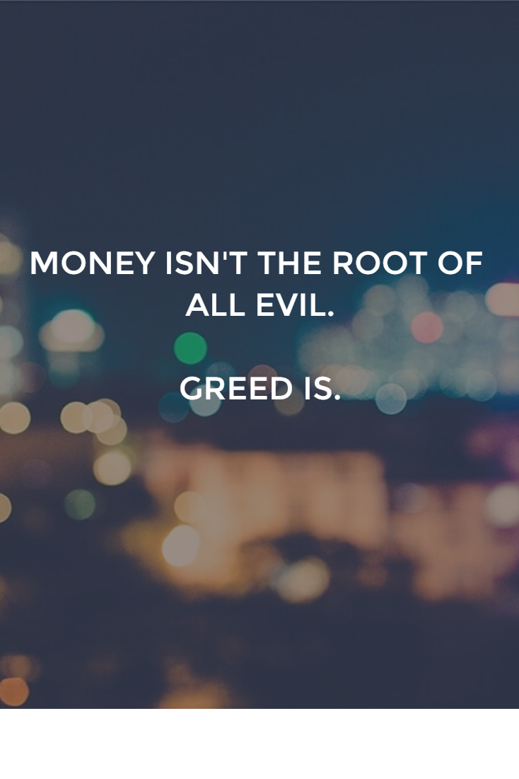 Greedy men: how to recognize them, what to talk about Stupidity and greed