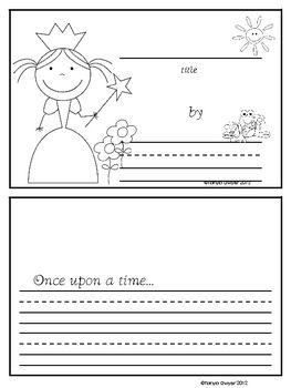 Free Book Writing Templates For Word Free Fairy Tale Writing So Cute.has Word Banks And Paper For Fairy .