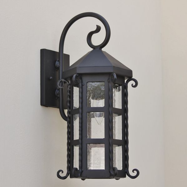 Exterior Lightingdesign Ideas: 7095-1 Spanish Style Outdoor Wall Light