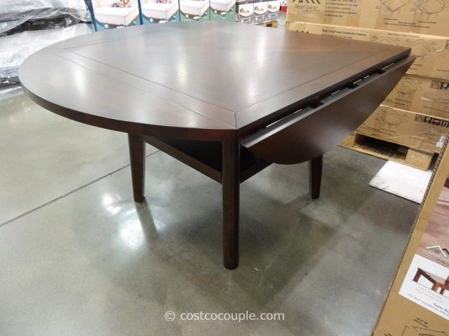 Regal Living Beckett Drop Leaf Dining Table Costco