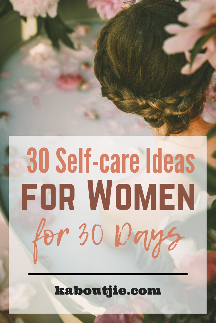 30 Self-care Ideas for Women for 30 Days  womens health - Fitness #Self-care #Fitness #Fitness 30 Se...
