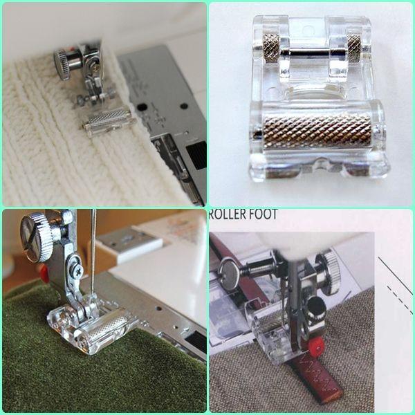 El Pie De Rodillo Ideal Para Coser Telas Difíciles Y Abultadas Como El Cuero De Ropa O Cue Piezas De Máquina De Coser Consejos Para Coser Accesorios De Costura