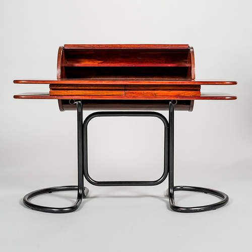 1960s Writing Desk With Tambour Document Holder By Giotto Stoppino Giotto Stoppino