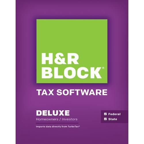 Today Only H R Block At Home Deluxe State Tax Prep Filing Software W 5 Best Buy Gift Card For 29 99 Exp 2 2 2014 Tax Software Hr Block Tax Prep