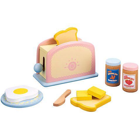 John Lewis Play Kitchen Toaster | Kids play kitchen ...