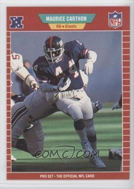 1989 Pro Set #282 - Maurice Carthon