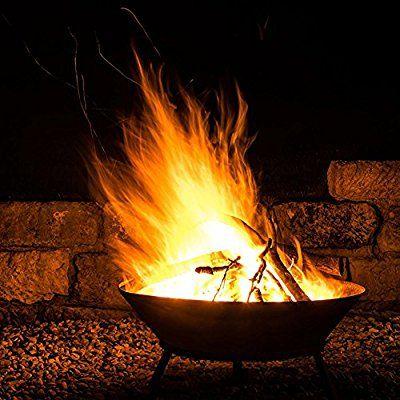 Romatische Gartenfeuer! Was gibt es gemütlicheres als ein Feuer in - feuerschale im garten