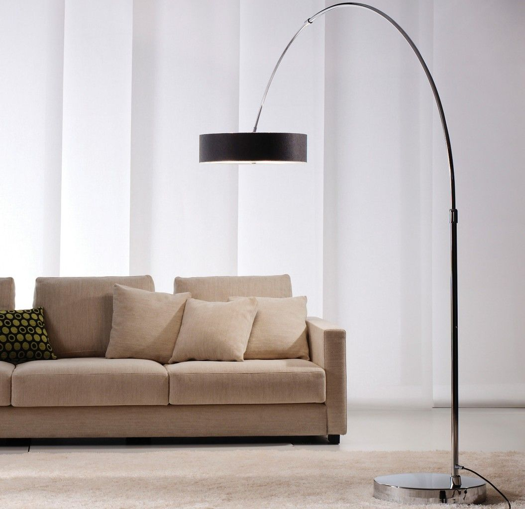 small arc floor lamps
