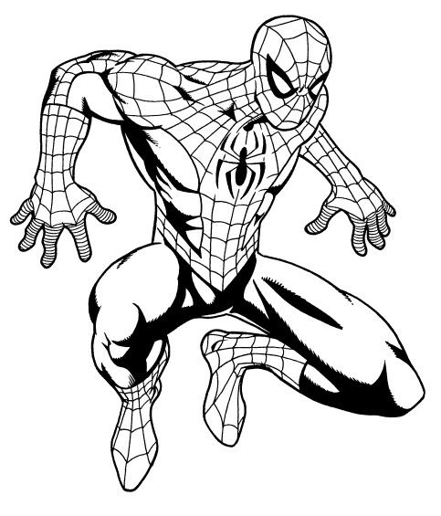 Spiderman drawing by Dave Beaty   Spiderman drawing ...