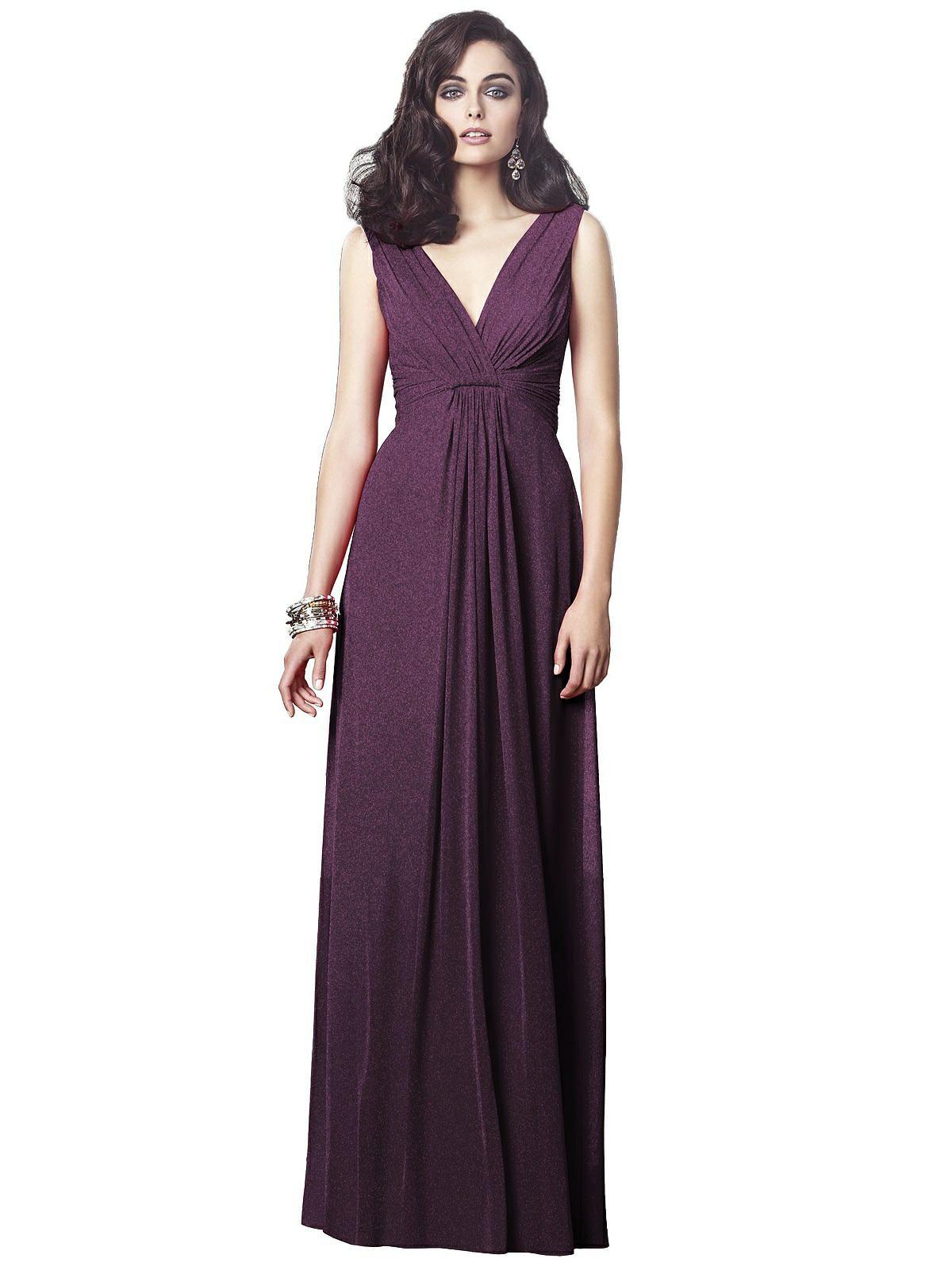 02ad1532b312 Dessy Shimmer Bridesmaid Dress 2907LS in 2019 | Dessy Bridesmaid ...
