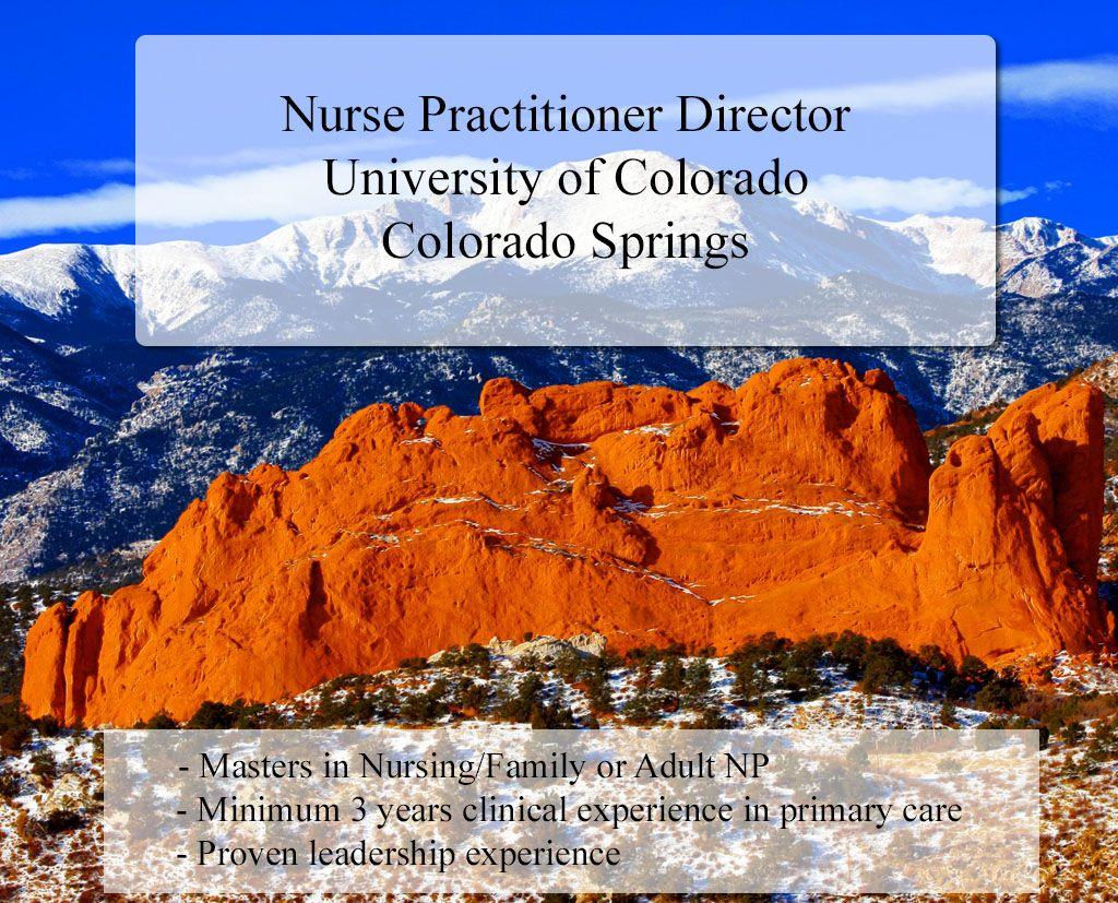 University of Colorado, Colorado Springs (UCCS) is seeking