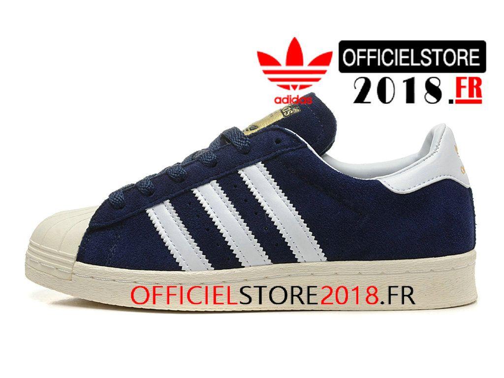 site réputé 0f1eb 9555d Adidas Homme Chaussures Originals Superstar 80s DLX Suede ...