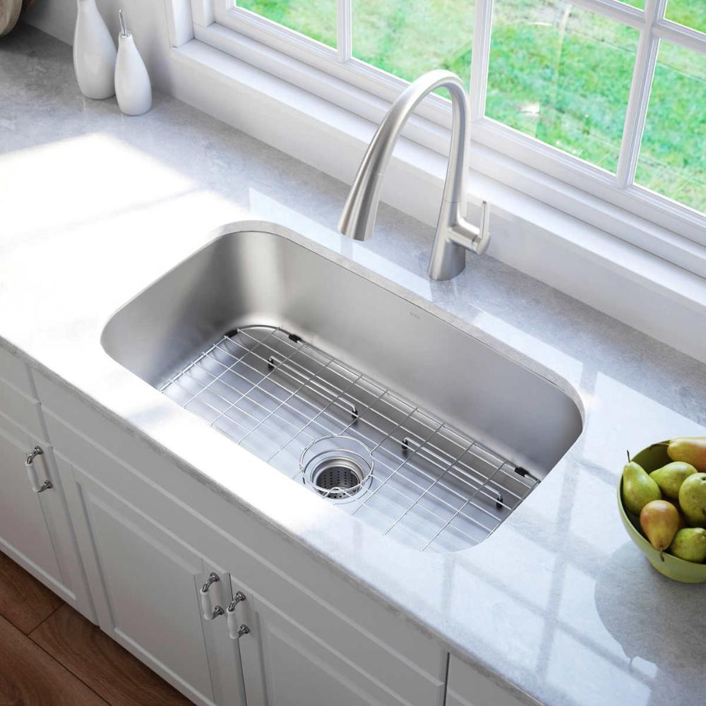 Kraus Stainless Steel Kitchen Sink Undermount Kitchen Sinks Stainless Steel Kitchen Sink Steel Kitchen Sink