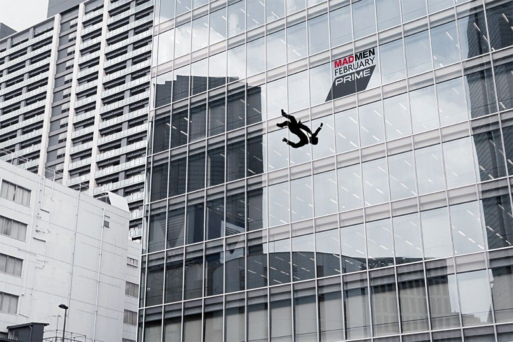 Prime: Mad Men Outdoor Ad #Advertising #MadMen