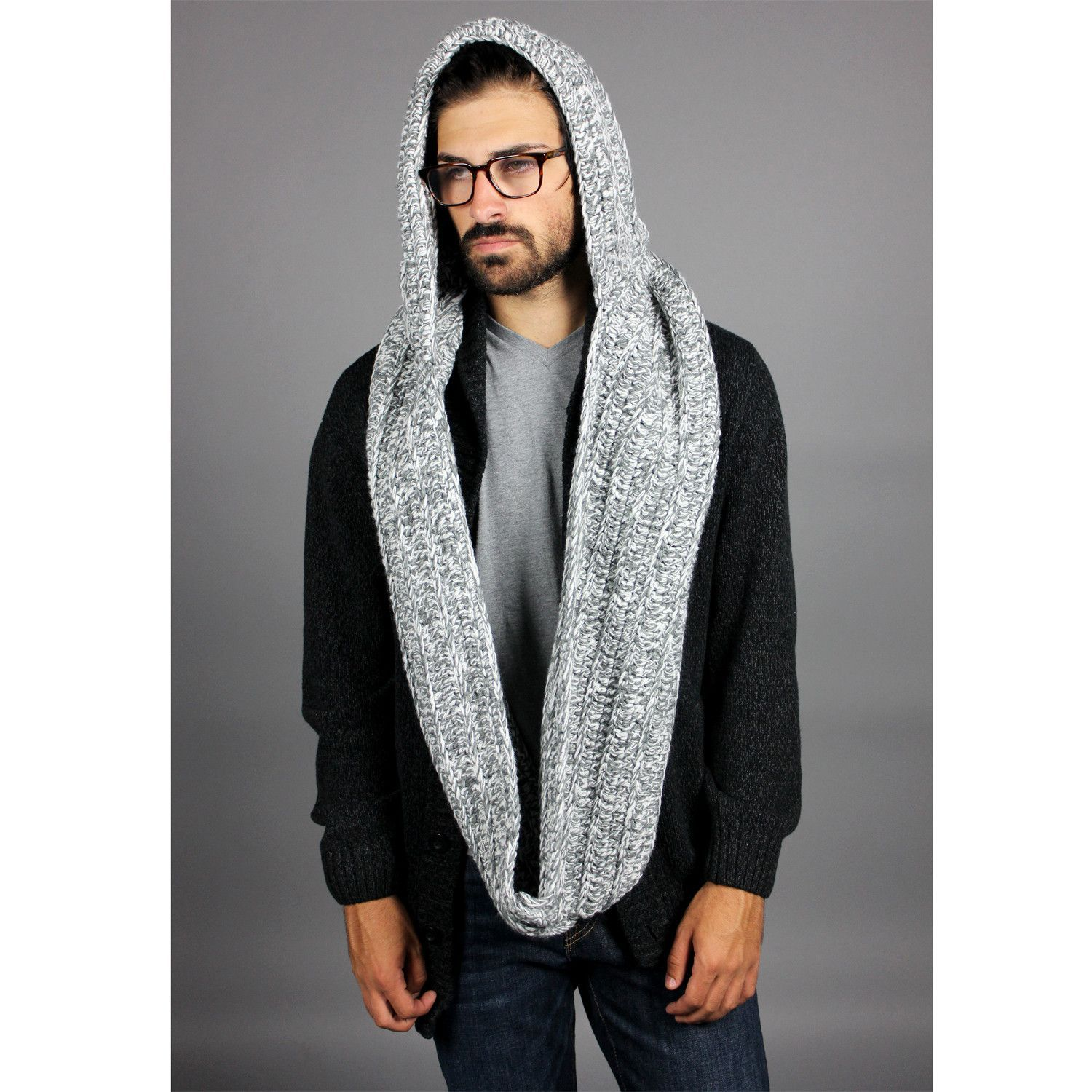 *The men's Chunky Fairisle Collection captures the classic MUK LUKS patterns we all know and love *Can be worn as a hooded scarf or as a scarf only *% acrylic *One size fits most See More Hats MUK LUKS Chunky Fairisle Funnel.
