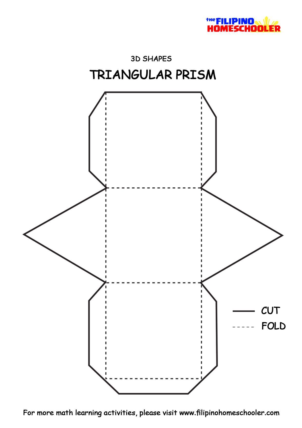 3d Shapes Paper Models