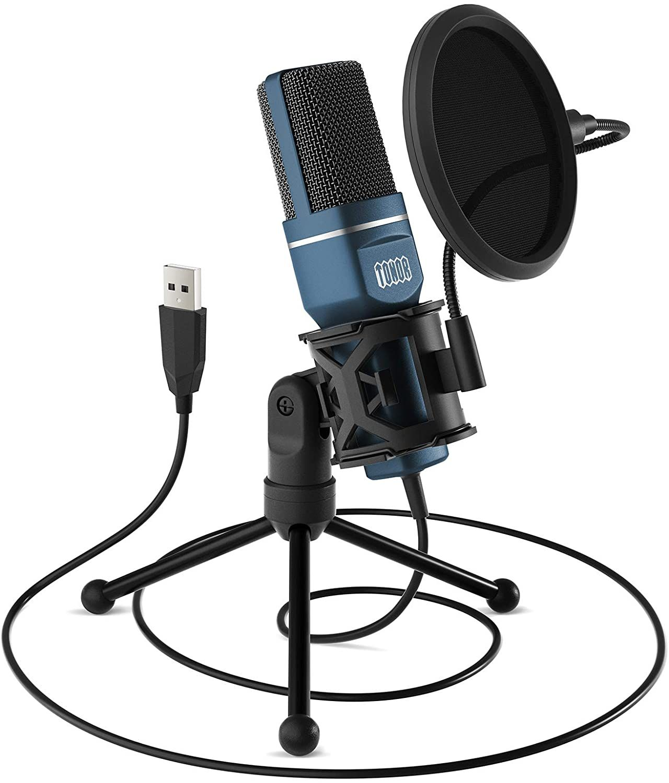 Tonor Tc 777 Usb Microphone In 2020 Gaming Microphone Usb Microphone Microphone