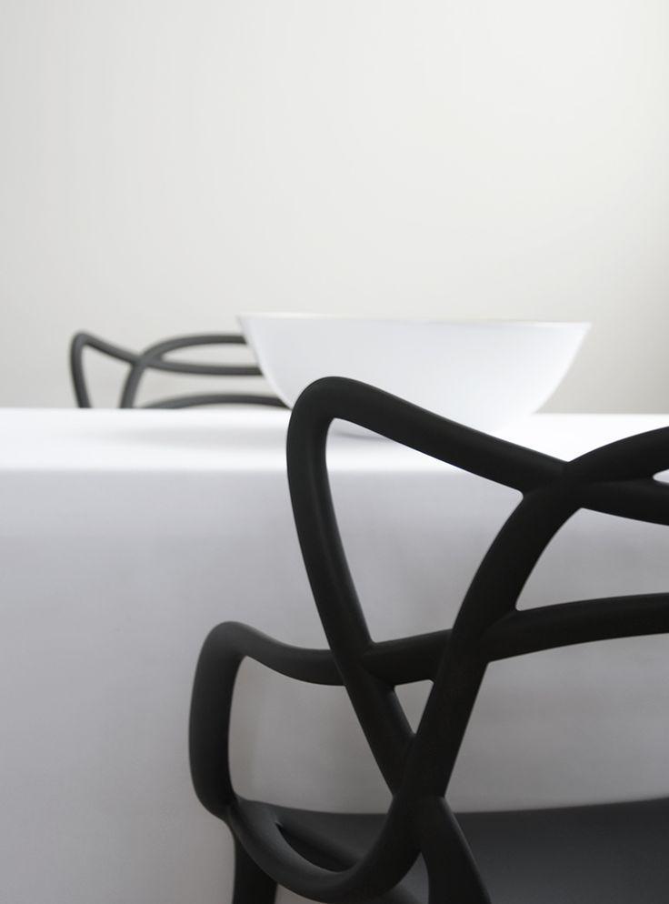 Black and White | Kartell Master Chair