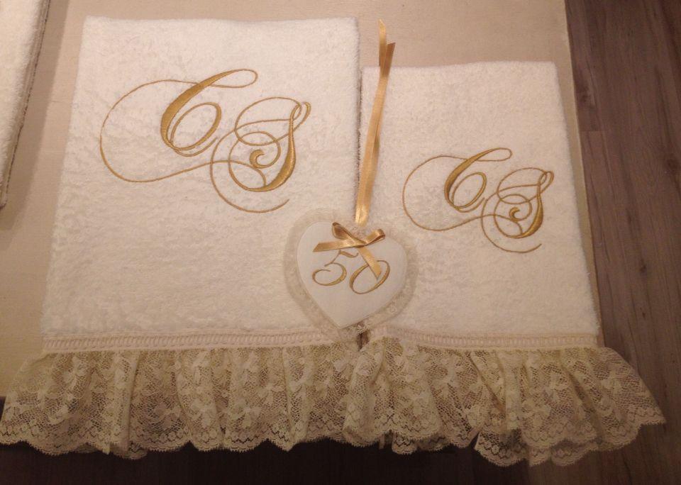 Idea Regalo Per I 50 Anni Di Matrimonio Asciugamano Viso E Ospite