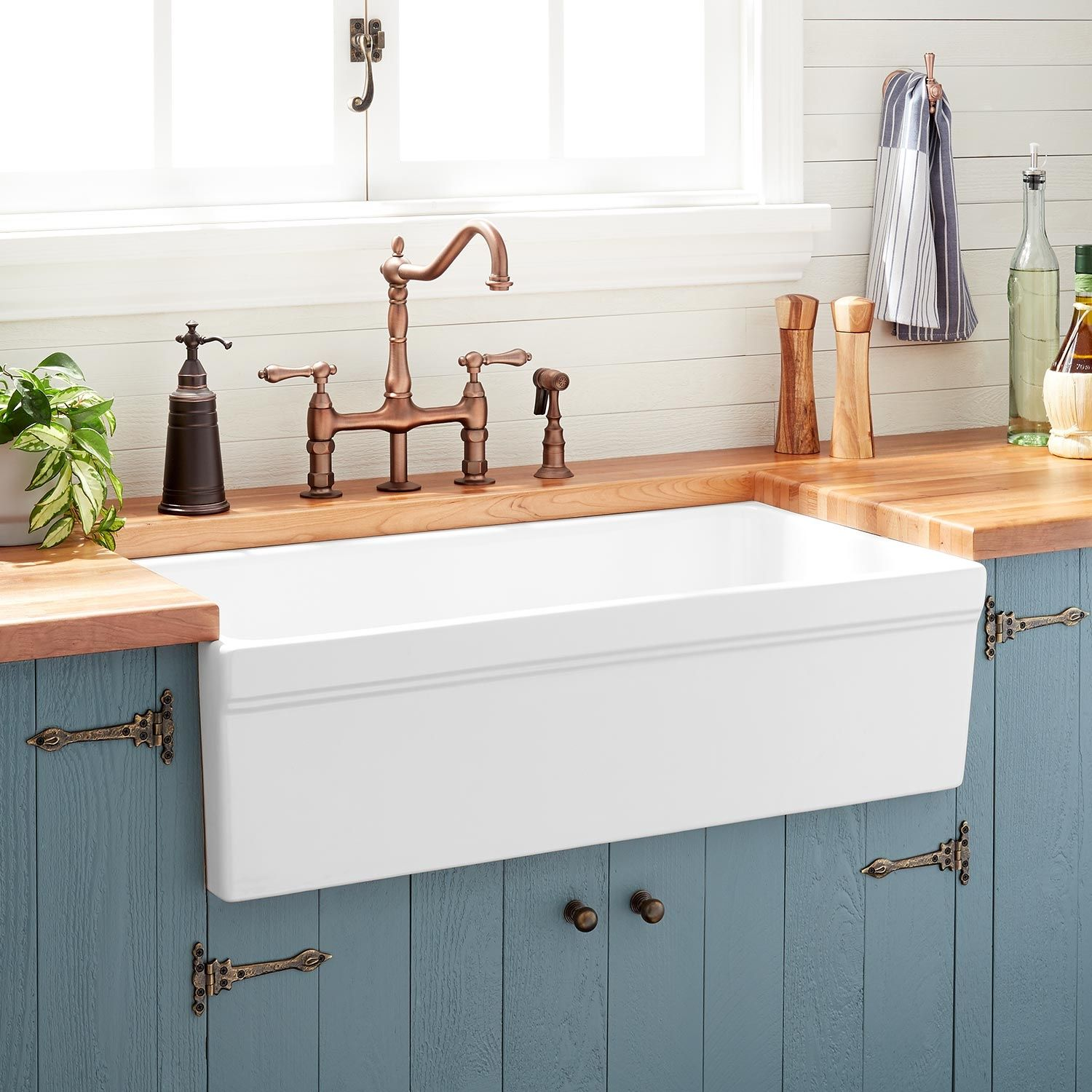 36 Gallo Fireclay Farmhouse Sink With Drainboard White Kitchen Kitchen Projects Fireclay Farmhouse Sink White Farmhouse Sink Farmhouse Sink Kitchen