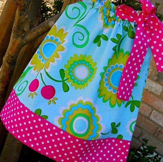 Pillowcase Dress http://www.etsy.com/listing/66557830/spring-pillowcase-dress?ref=v1_other_2