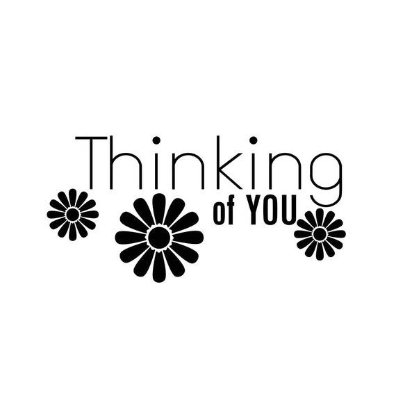 Download Thinking of you Phrase Graphics SVG Dxf EPS Png Cdr Ai Pdf ...