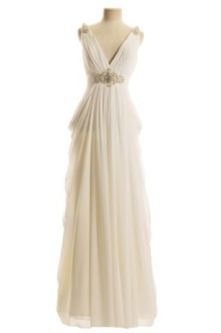 Grecian Wedding Dress with Straps at Couture Bride Hornchurch Essex ...