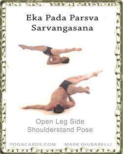 sarvangasana side open  advanced yoga asana yoga poses