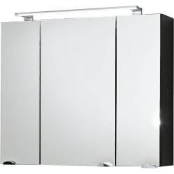 Photo of Bathroom set Rimao-100 high-gloss anthracite, 100cm washbasin, Led, W x H x D: approx. 160 x 200 x 57 c