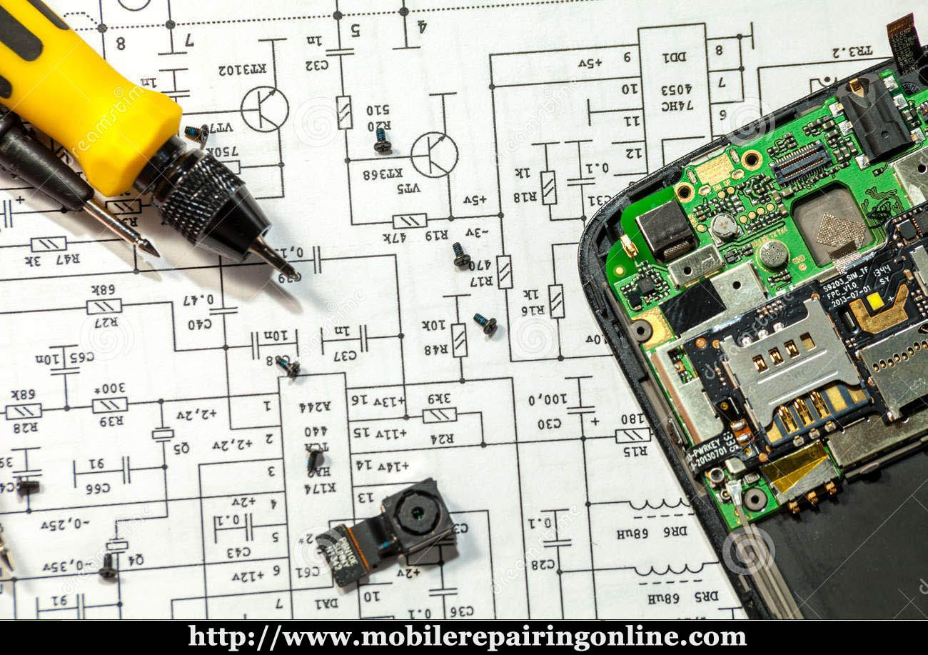 Mobile Pcb Diagram Free Download In 2019
