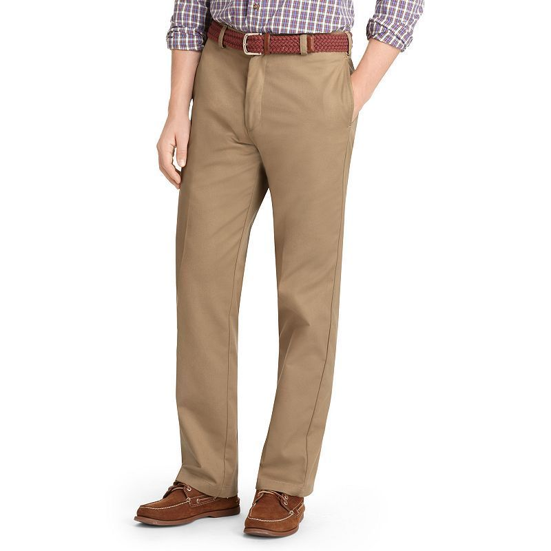 Tall Classic Fit Washed Khaki Pants
