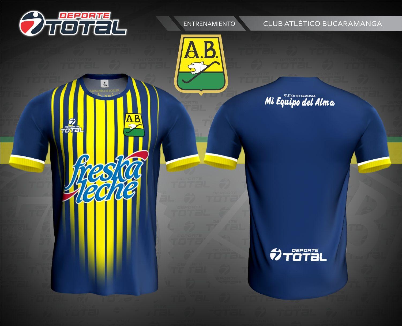 Atletico Bucaramanga Camiseta De Entrenamiento  Deporte Total - Empresa  100% Santandereana  Deporte Total. 756e43dfe5a6d