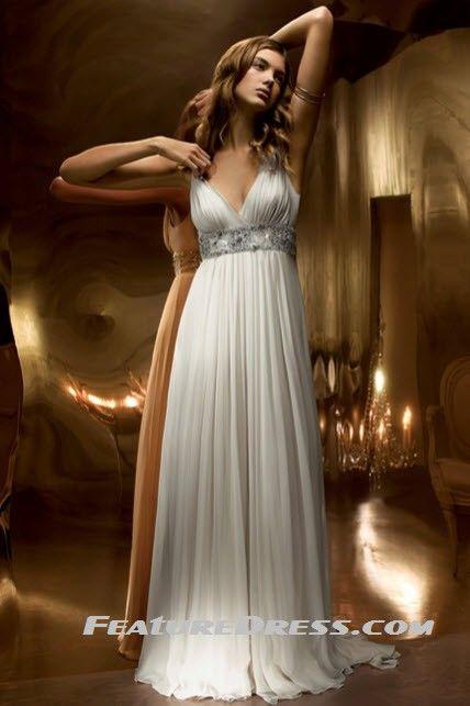 Greek Goddess Wedding Dress